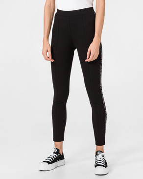 Calvin Klein Moto Outline Logo Milano Leggings