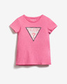 Guess Sequins Front Logo Kinder  T‑Shirt