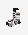 Happy Socks Black And White Socks 4 pairs