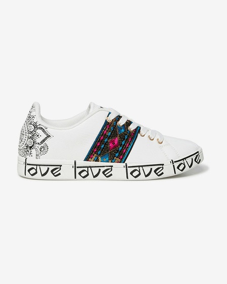 Desigual Cosmic Exotic Indian Tennisschuhe