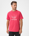 adidas Originals Trefoil Logo Outline T-Shirt